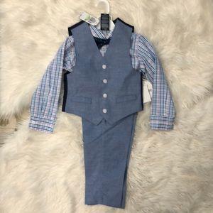 Boys nautica 4 piece suit